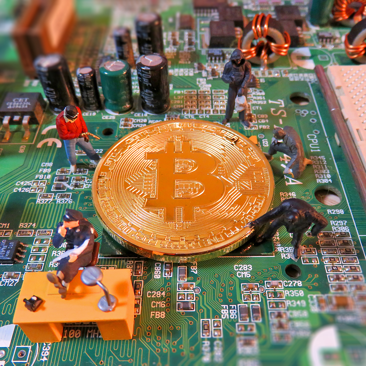監視の目を盗み仮想通貨ビットコインを狙うハッカー