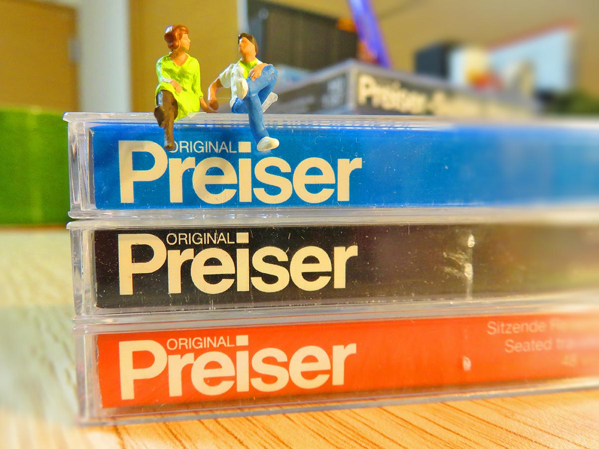 僕が使ってるミニチュアはプライザー(Preiser)です!