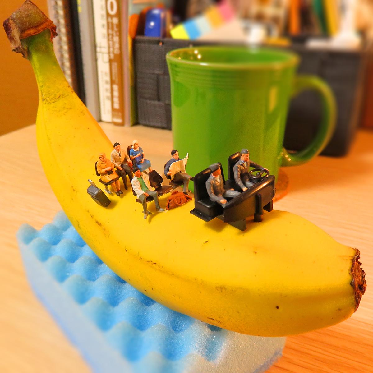 これが本当のバナナボート