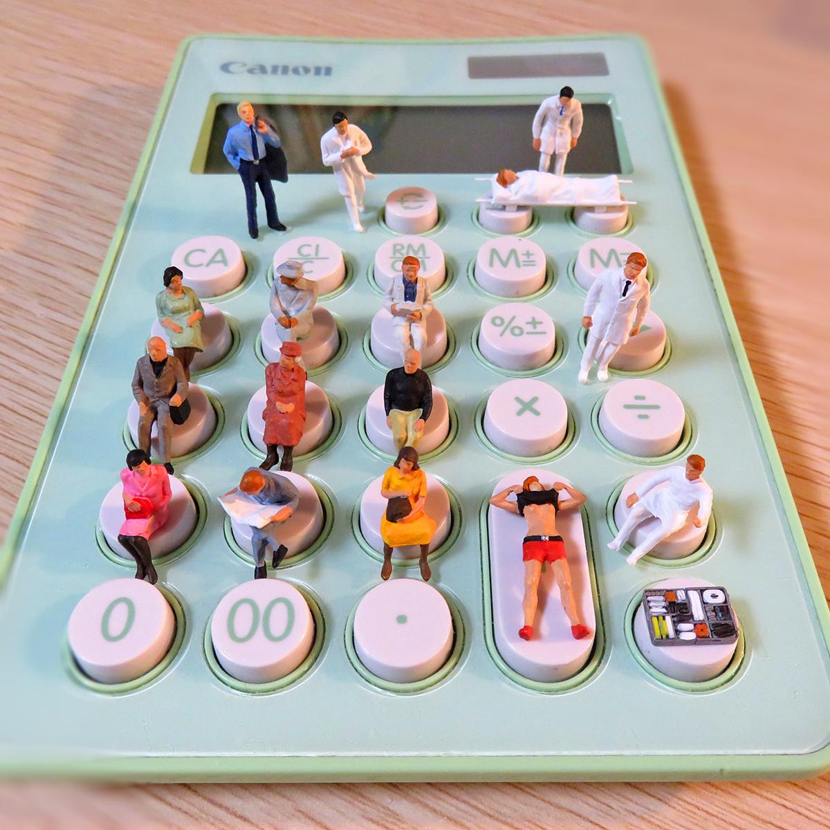 3月20日は電卓の日!大混雑のキャノン電卓病院