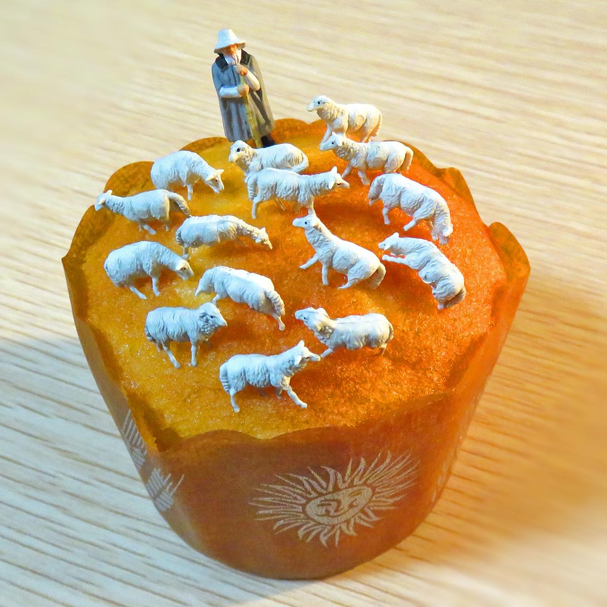 マフィン羊牧場と羊使い