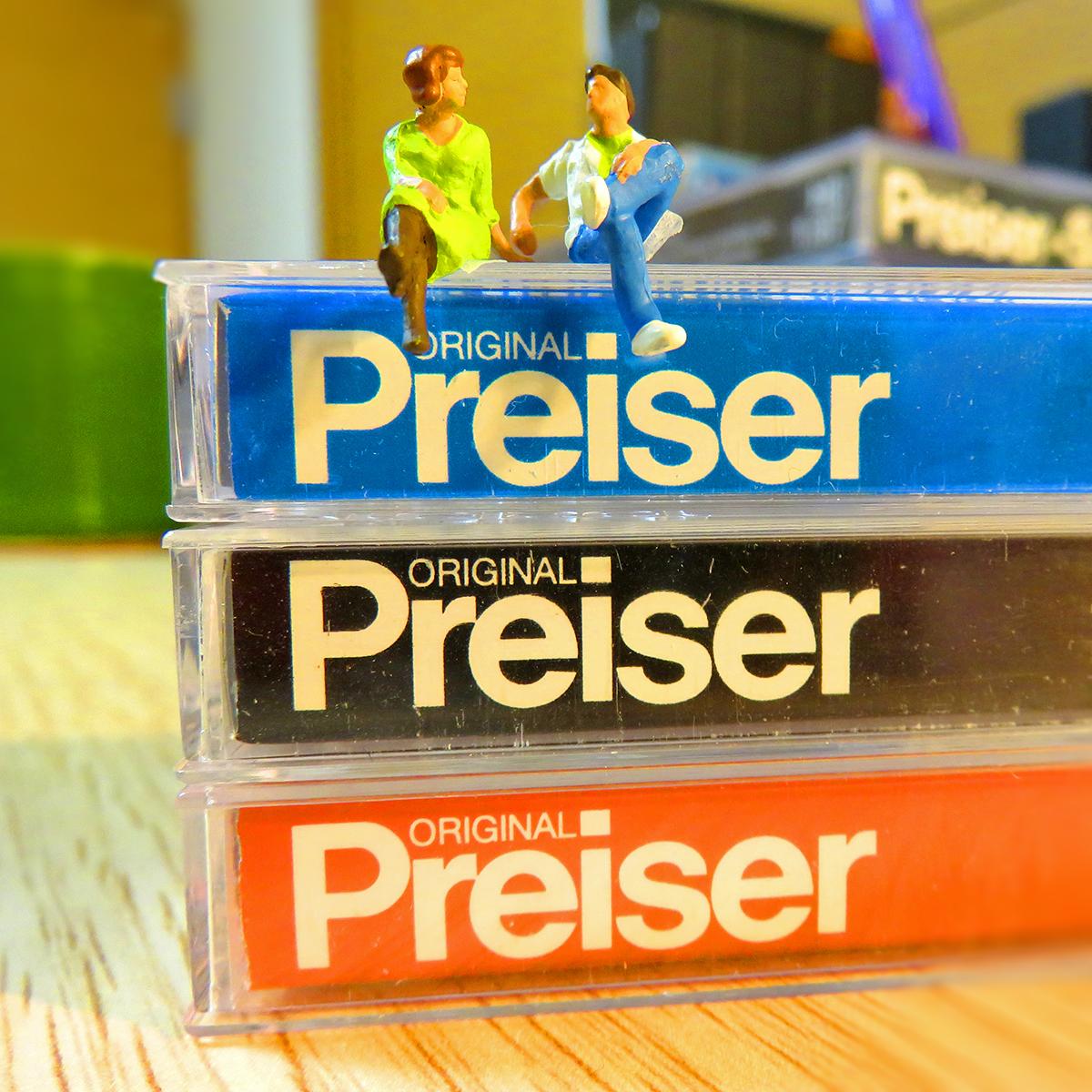 僕が愛用してるミニチュアメーカーはプライザー(Preiser)